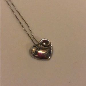 Tiffany & Co. Sterling Silver Heart Necklace